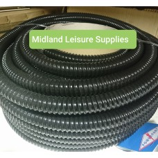 40mm convoluted fresh water filler hose by the metre
