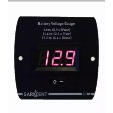 Sargent EC10 12v Battery voltage monitor level indicator Caravan or Motorhome