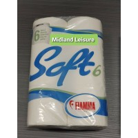 Fiamma Toilet Roll Paper 6 Pack Chemical Loo Tissue