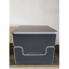 Camper Toilet Storage Box For Thetford 135 and 335 Porta potti GREY CARBON seat t5 t6