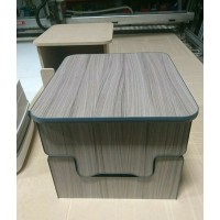 Camper Toilet Storage Box For Thetford 135 & 335 Porta potti DRIFTWOOD seat t5 t6